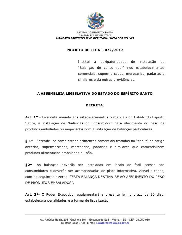 ESTADO DO ESPÍRITO SANTO                                 ASSEMBLEIA LEGISLATIVA                    MANDATO PARTICIPATIVO D...