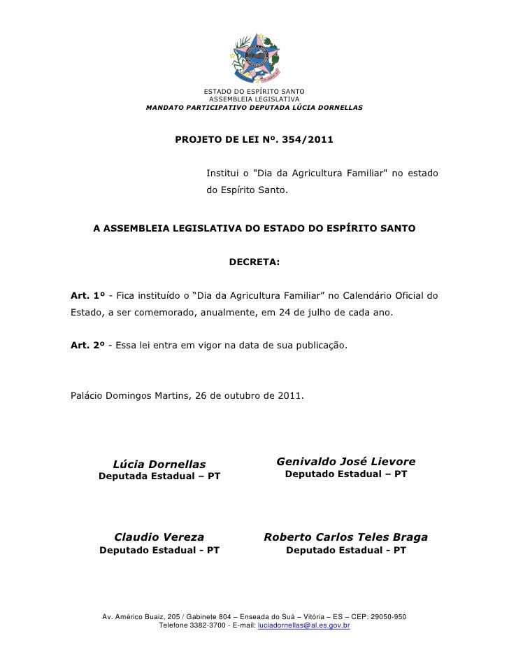 ESTADO DO ESPÍRITO SANTO                                ASSEMBLEIA LEGISLATIVA                   MANDATO PARTICIPATIVO DEP...