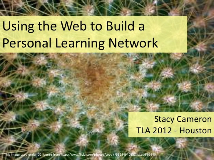 Using the Web to Build aPersonal Learning Network                                                                         ...