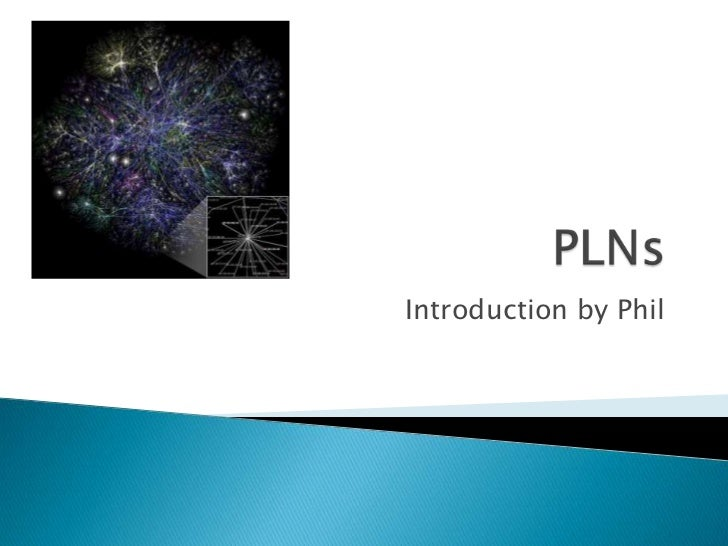Introduction by Phil