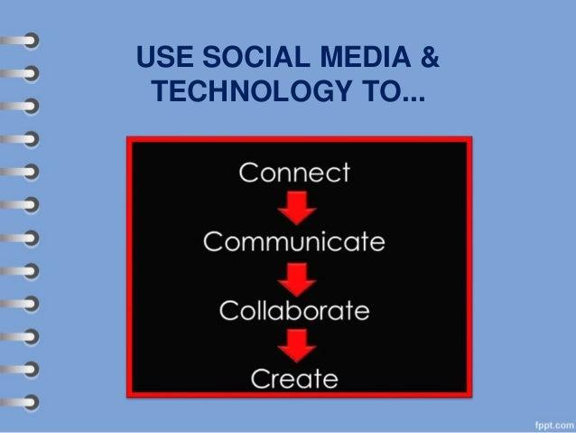 USE SOCIAL MEDIA & TECHNOLOGY TO...