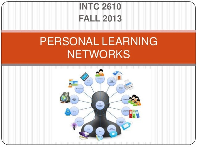 INTC 2610 FALL 2013 PERSONAL LEARNING NETWORKS