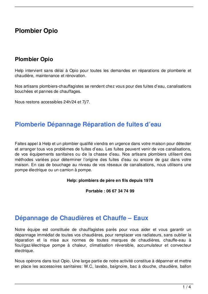 Plombier OpioPlombier OpioHelp intervient sans délai à Opio pour toutes les demandes en réparations de plomberie etchaudiè...