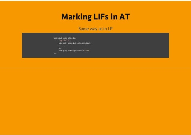 Marking LIFs in AT          Same way as in LPaaiSrnFed tp.tigil(   yil    mFed,   wde=tp.tigigt    igtaaiSrnWde(   ..    ....