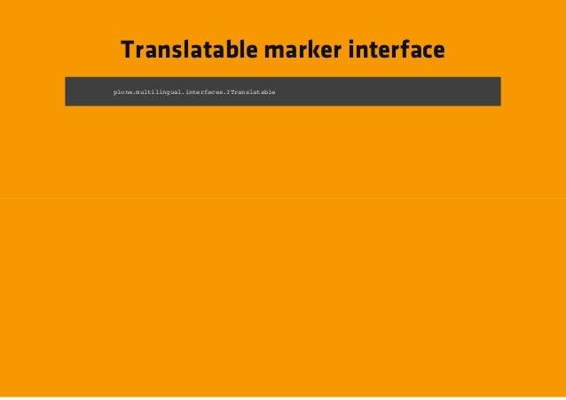 Translatable marker interfacepoemliiga.nefcsIrnltbe ln.utlnulitrae.Tasaal