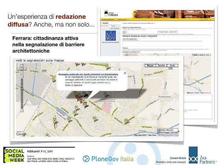 PloneGov - Workshop 2011 Social Media Week Slide 2