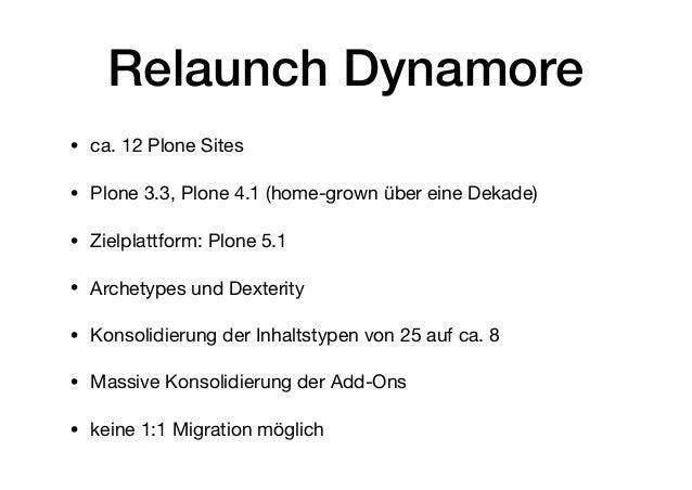 Plone Migrationen mit Plone REST API Slide 3