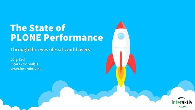 The State of PLONE Performance