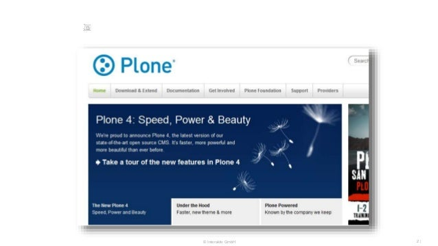 The state of Plone performance Slide 2