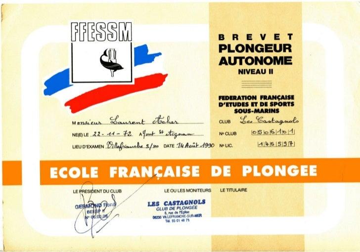 Plongée 1990