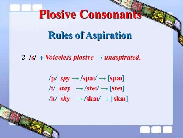 Aspirated consonant