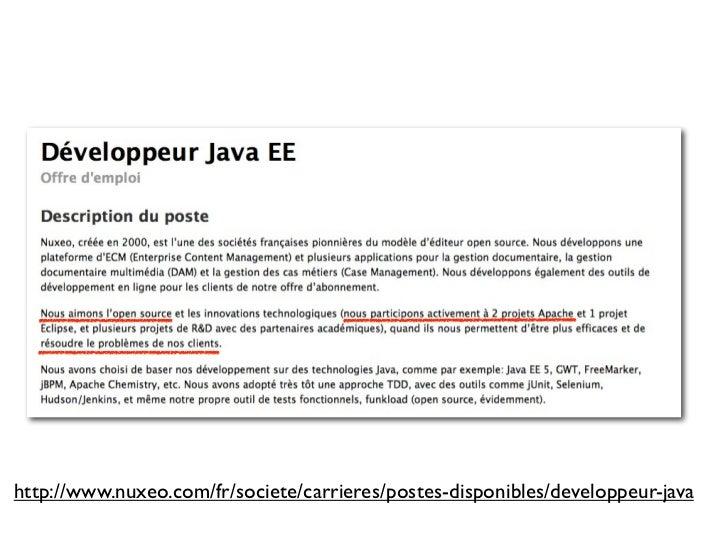 challenges du recrutement pour un editeur de logiciel libre