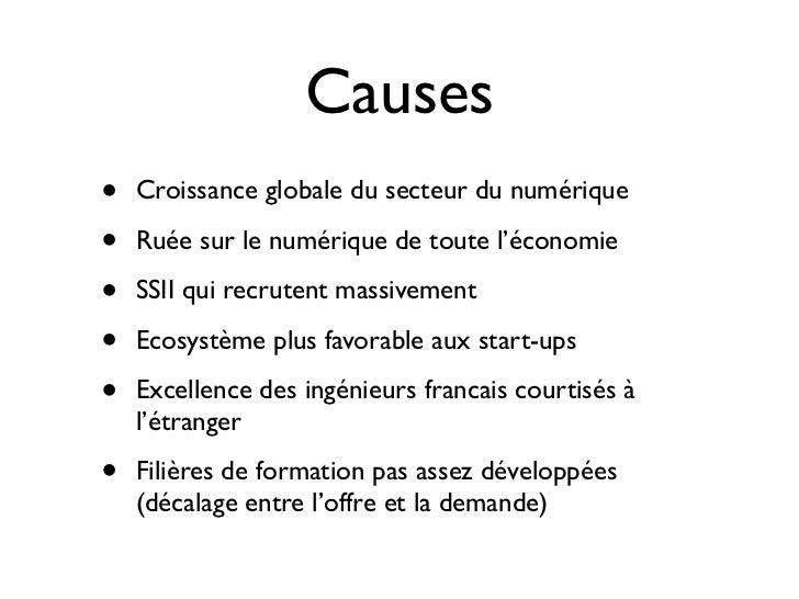 Challenges du recrutement pour un editeur de logiciel libre Slide 3