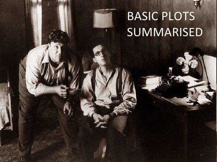 BASIC PLOTS SUMMARISED