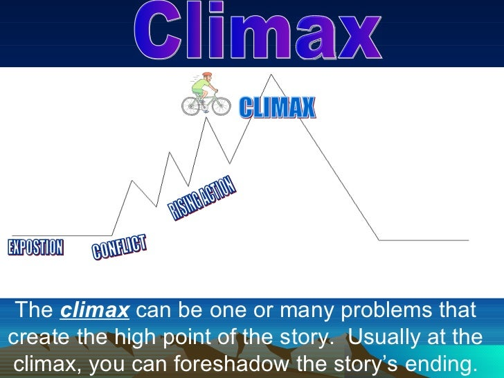 The climax of the play occurs when