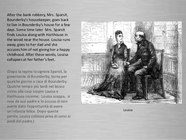 charecter of mrs sparsit in hard times With the help of the new tool clic, it investigates interruptions of the speech of mrs sparsit in hard times and illustrates how suspensions can be useful places for the presentation of character information.