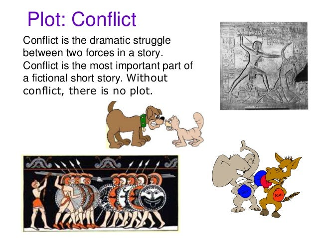 plot setting conflict