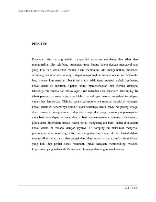Assignment Obesiti Qgk 3013