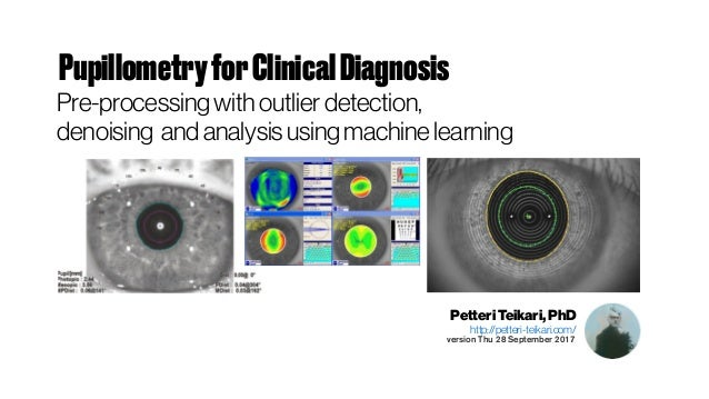 Pupillometry for Clinical Diagnosis