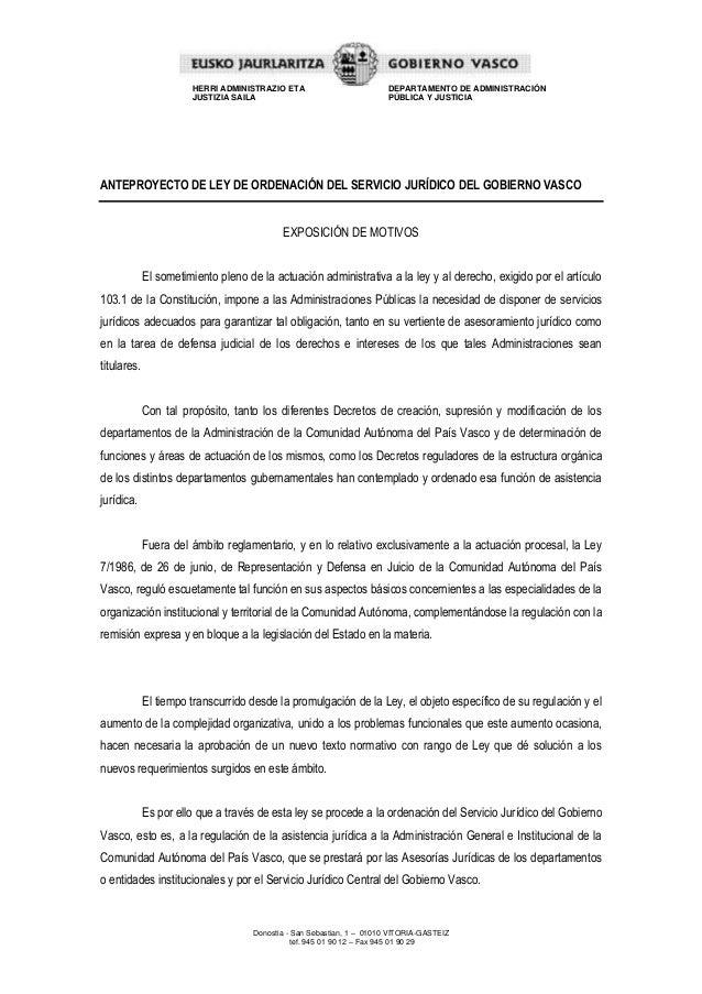 Donostia - San Sebastian, 1 – 01010 VITORIA-GASTEIZ tef. 945 01 90 12 – Fax 945 01 90 29 HERRI ADMINISTRAZIO ETA JUSTIZIA ...