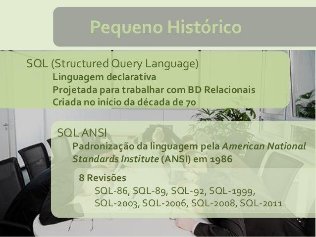 PL/SQL - Conceitos Básicos Slide 3