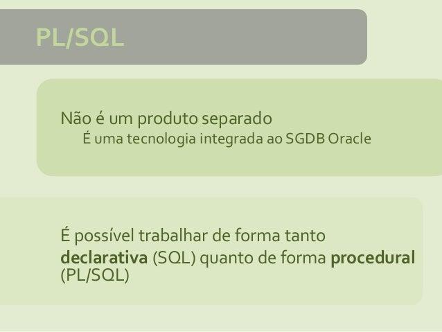 DE PL BAIXAR APOSTILA SQL