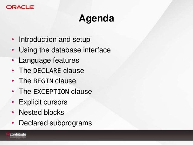 PL/SQL Fundamentals I Slide 2