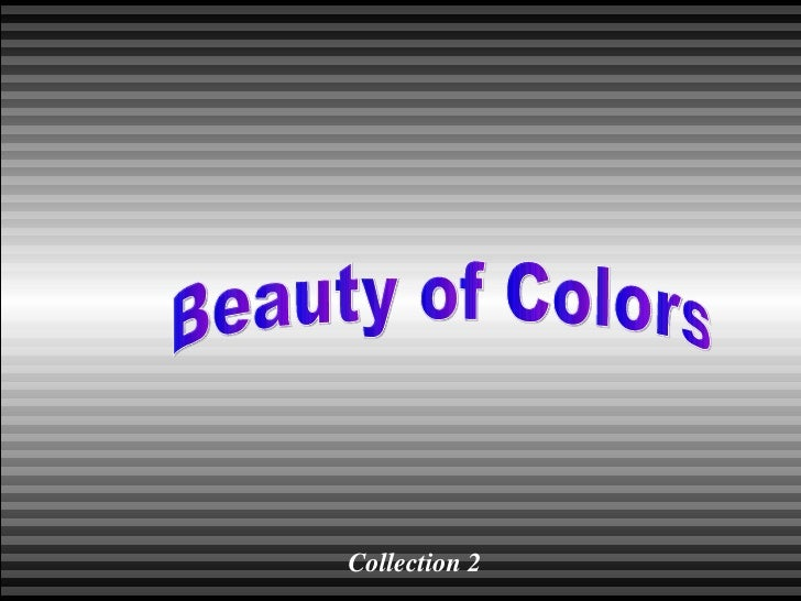 Beauty of Colors Collection 2