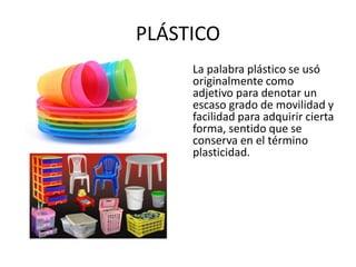 Derivados Del Petroleo Plasticos