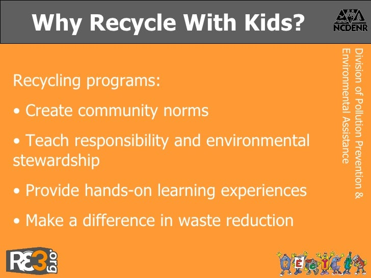 Image result for why recycle for kids