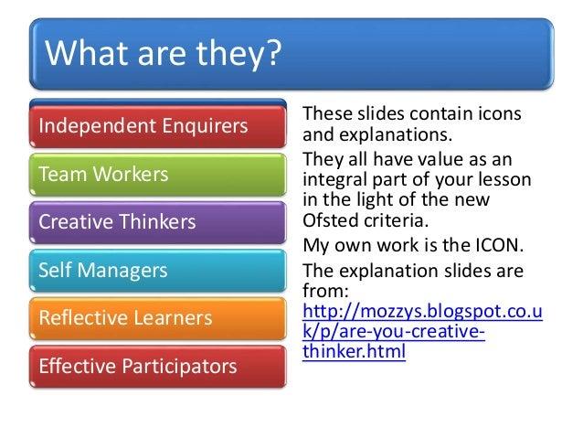 Personal Learning Amp Thinking Skills Explained