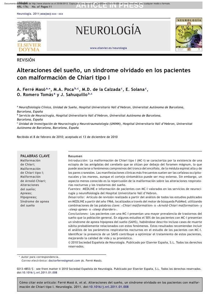 +Model            NRL-176;       No. of Pages 11                           ARTICLE IN PRESSDocumento descargado de http://...