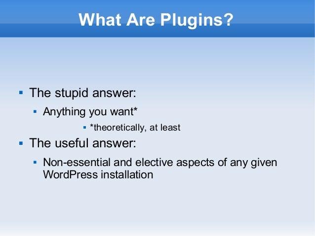 WordPress Plugin Development For Beginners Slide 2