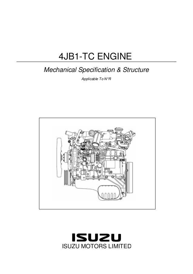 Isuzu 4hj1 Service manual