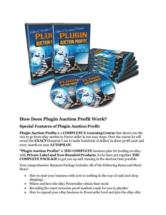 Plugin auction profits review and giant $12700 bonus 80% discount