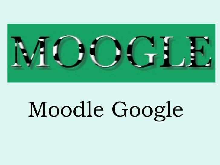 Moodle Google