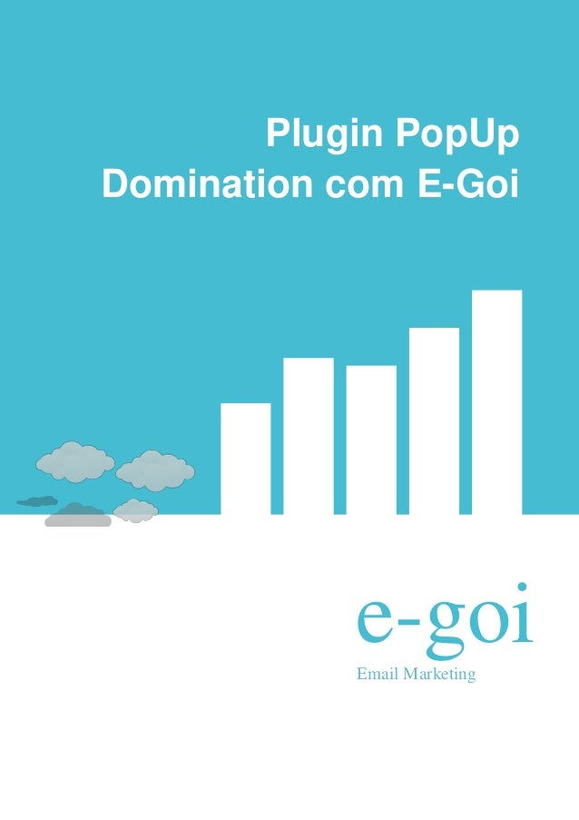 Plugin PopUpDomination com E-Goi            e-goi            Email Marketing