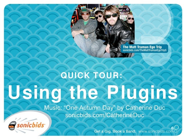 """QUICK TOUR:  Using the Plugins    Music: """"One Autumn Day"""" by Catherine Duc            sonicbids.com/CatherineDuc"""