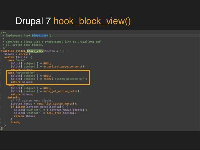 drupal 7 hook preprocess block The preprocessing hook provides front-end developer more control over the output and make it more efficient, clean, markup many times, a developer uses this instead of drupal preprocess/ process function a page on drupal has plenty of nested files with theme functions holds region/ block / node / field tpl file.
