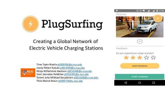 Creating a Global Network of Electric Vehicle Charging Stations Timo Tapio Ristola e0009596@u.nus.edu Joona Petteri Karjul...