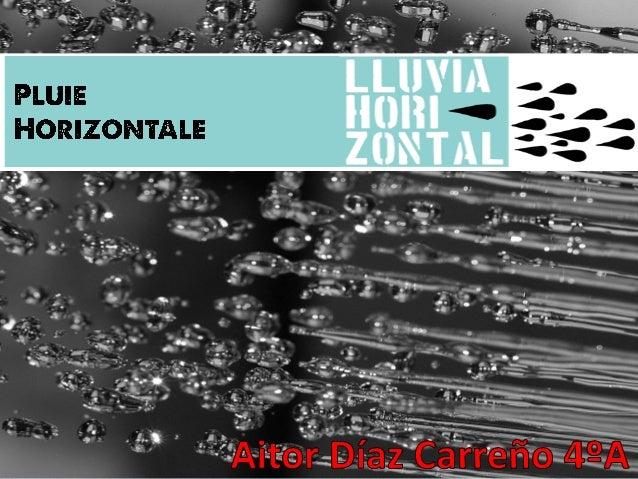 La Pluie Horizontale est un phénomène naturel propre de bois nuageux présents dans des zones de grande altitude. C'est pro...