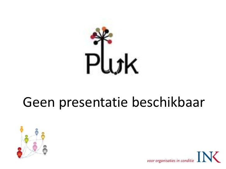 Geen presentatie beschikbaar