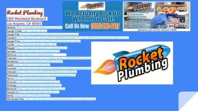 Rocket Plumbing 2355 Westwood Boulevard Los Angeles, CA 90064 Website: https://rocketplumbingcalifornia.com/los-angeles Go...