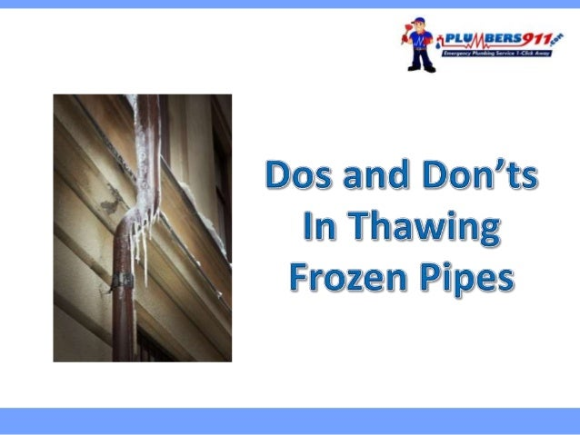 Temperature drops poses danger not just to our health but also our plumbing system. Missouri.Plumbers911.com Adamr (freedi...