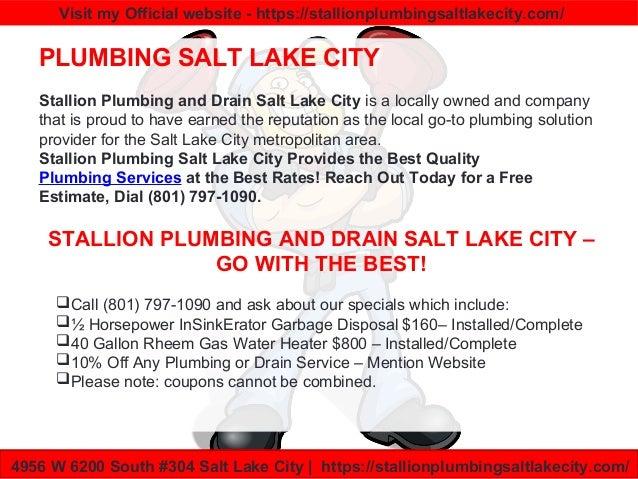 Plumber Salt Lake City Salt Lake Plumbers