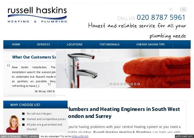 plumbers kingston