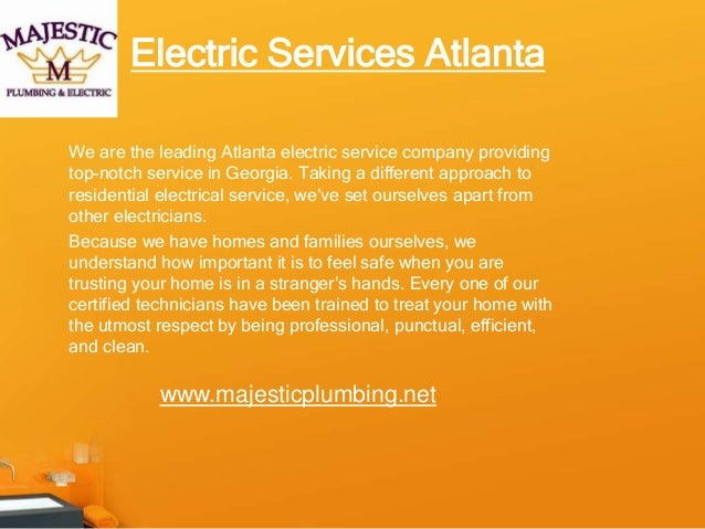 We are the leading Atlanta electric service company providing top-notch service in Georgia. Taking a different approach to...