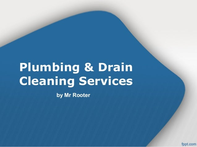Plumbing & Drain Cleaning Services by Mr Rooter