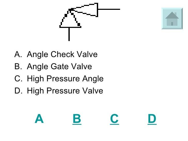 Symbol For Plumbing Check Valve