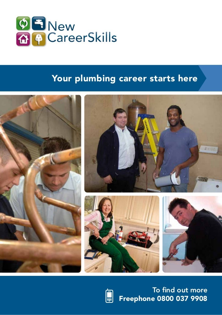 Your Plumbing Career Starts Here To Find Out More